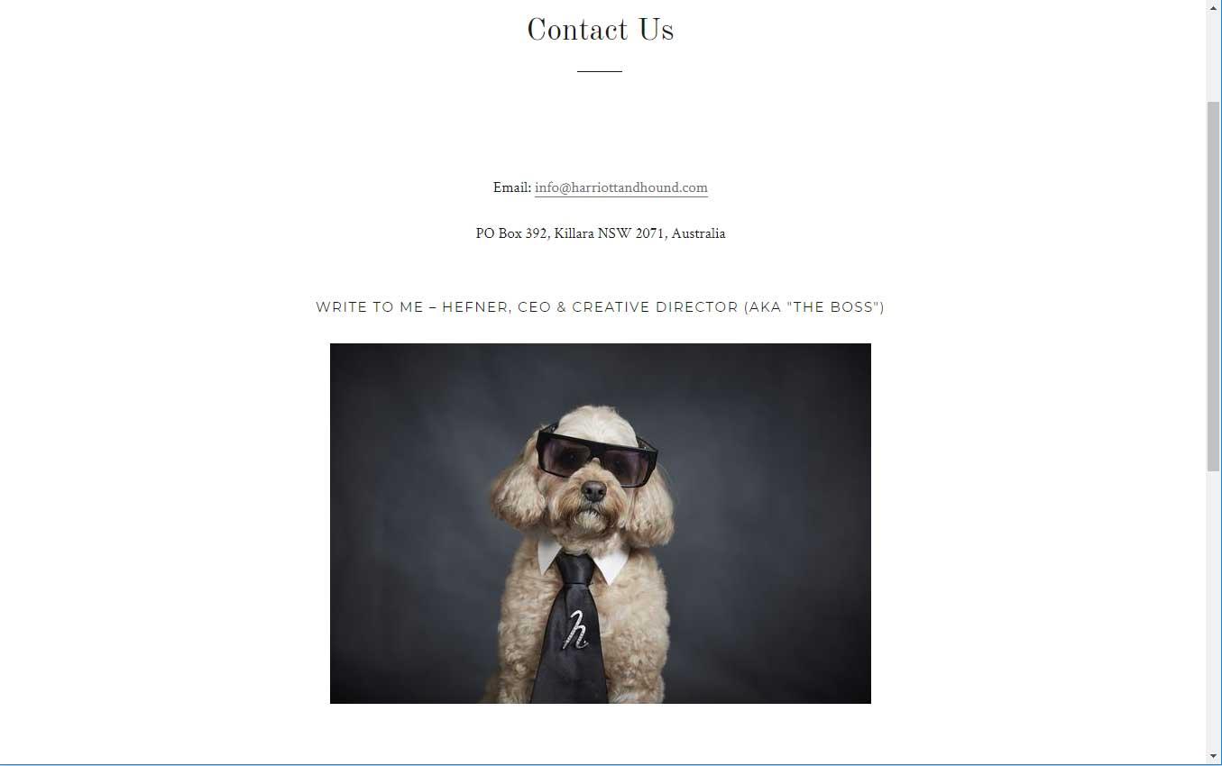 Pets Fragrances Website Site Design | Byteknight Creations